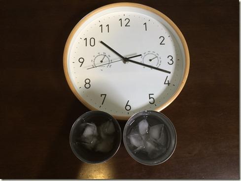 真空断熱タンブラー比べ開始 (2)
