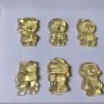 子供の大好きなアンパンマングミを量産する。適当な容器で自家製グミを作っちゃおう。