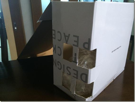 小さい袋たたまず収納ボックス