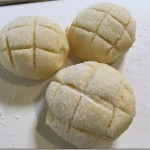 ホームべカリーを使ってメロンパンを大量生産。レシピと作業工程。