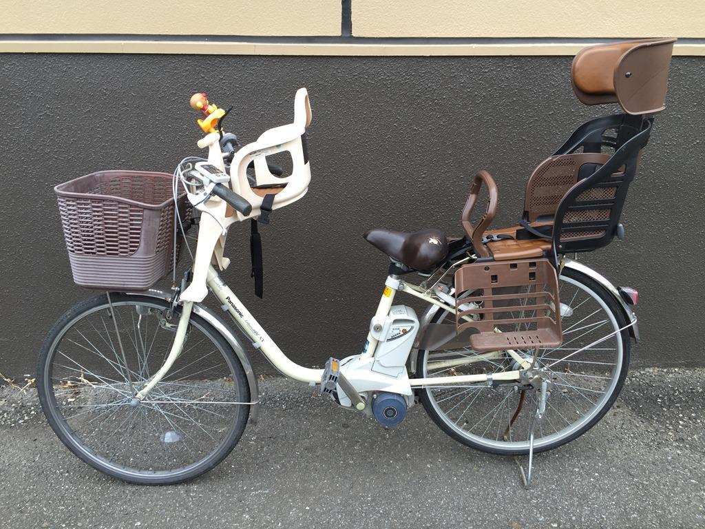 自転車の 3人乗り自転車 チャイルドシート カバー : 普通の電動自転車で3人乗りに ...