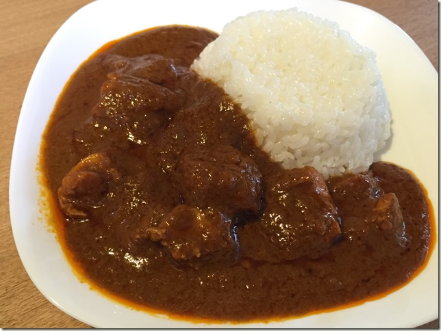 無印良品の手づくりカレーキットの「バターチキン」。鶏もも肉1枚で本格カレー。
