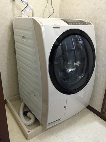 縦型洗濯機から日立のドラム式洗濯機「ビッグドラム スリム BD-S8700R」に買い替えた。購入レビュー。
