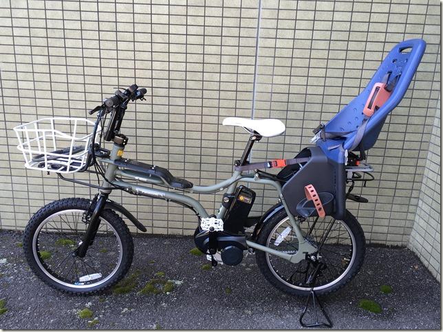 パナソニックの電動自転車「Panasonic EZ」を子供乗せモデルに改造してみた。