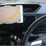 カーナビよりもGoogleマップが優秀。自動車にiPad miniを車載する方法。
