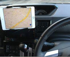 iPadでカーナビ。
