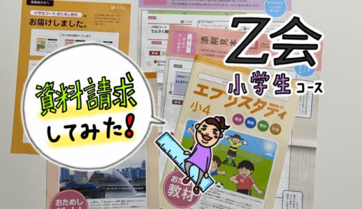 Z-KAI(Z会)小学生コースの資料請求してみた。体験教材の内容とその感想。